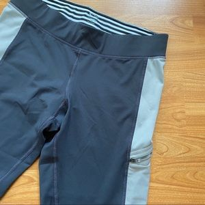 C9 by Champion Gray Duo Dry Cropped Leggings